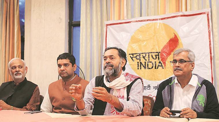 Join November 30 stir in Delhi,  Yogendra Yadav urges Haryana farmers