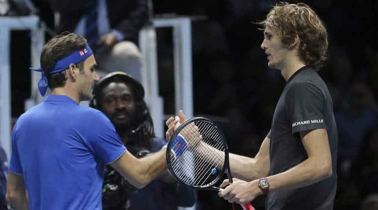 Alexander Zverev didn't deserve to be booed, says Roger Federer