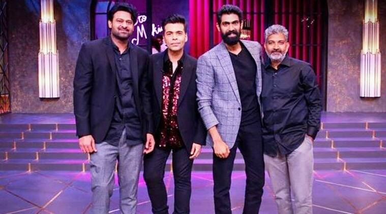 Koffee With Karan Baahubali trio