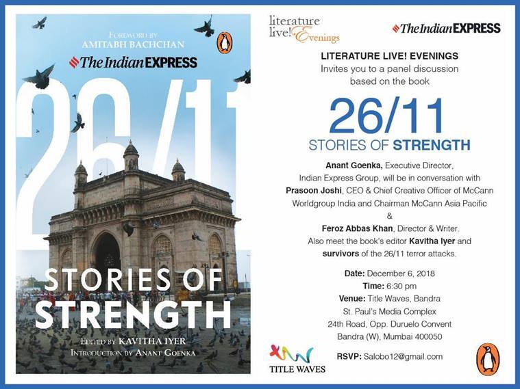 26/11 stories of strength, 26/11 mumbai terror attacks, indian express 26/11 stories of strength,.