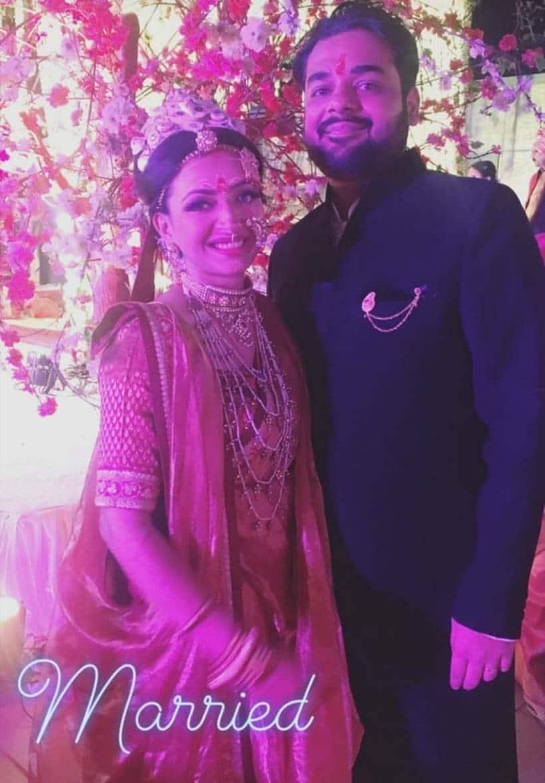 Shweta Basu Prasad, Rohit Mittal wedding