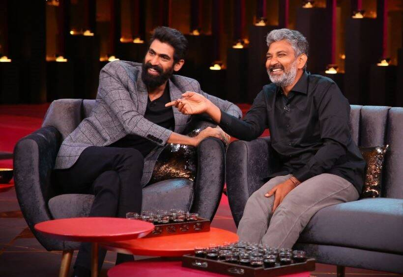 Rana Daggubati, prabhas and ss rajamouli on Koffee with karan