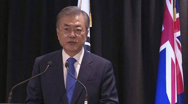 Moon: S. Korea, US Assess Korea Peace Process Proceeding Well
