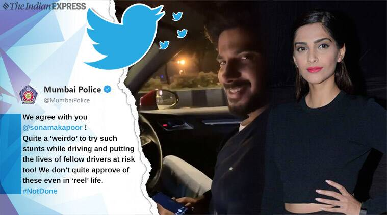 Mumbai Police Ends Up Wrongly Policing Dulquer Salmaan, Sonam Kapoor Defends Him