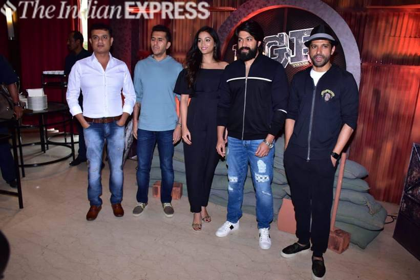 Kannada film KGF's Hindi trailer launch