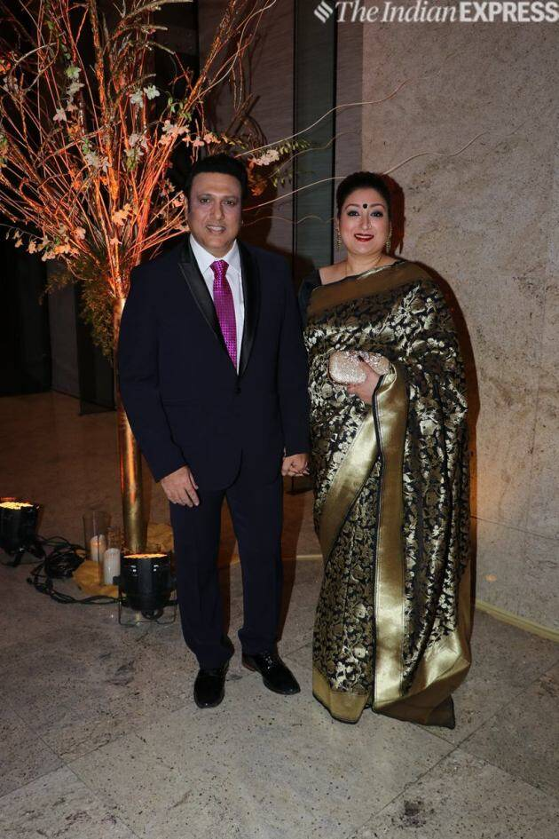 govinda with his wife