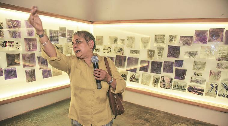 Kochi-Muziris Biennale, fourth edition of the Kochi-Muziris Biennale, Biennale, Anita Dube, textile artist Priya Ravish Mehra, Indian Express