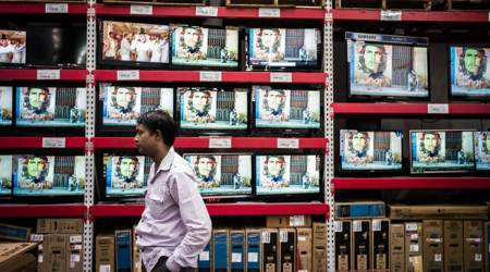 Customs duty exemption, TV panel manufacturing, TV component, econommy news, Indian express news