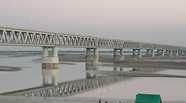 How a 5-km rail bridge brings upper Assam 170 km closer to Delhi