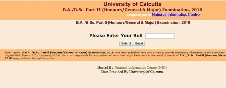 calcutta university results, wbresults.nic.in, calcutta university, calcutta university result, wbresults.nic.in