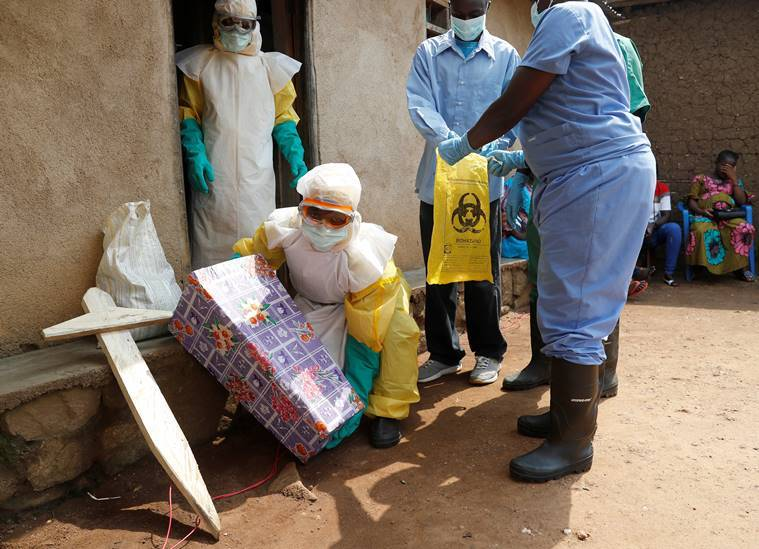 Ebola, Congo, Congo Ebola, DRC Ebola, Ebola crisis Congo, Congo Ebola crisis, Most neglected crisis 2018, Congo violence, Congo elections, elections in Congo, Yemen flood, Indian express, world news, latest news