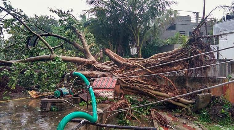 Cyclone Phethai, storm phetahi live updates, storm phethai update, andhra pradesh storm, storm in andhra pradesh, cyclone andhra pradesh, cyclone phethai andhra coast, fishing operation andhra, Tamil Nadu cyclone, Cyclone Phethai tamil nadu, Cyclone phethai live updates, Cyclone phethai andhra, Cyclone news, Cyclone updates, andhra cyclone news, andhra pradesh cyclone news, Indian express, Cyclone phethai updates indian express, Latest news, Weather news