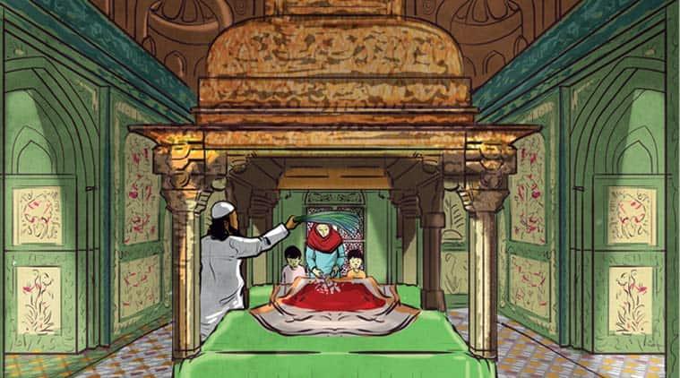 childrens book, dargah of salim chishti