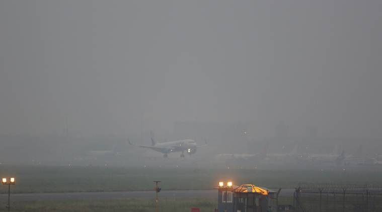 Low visibility disrupts flight operations at Delhi airport for two hours