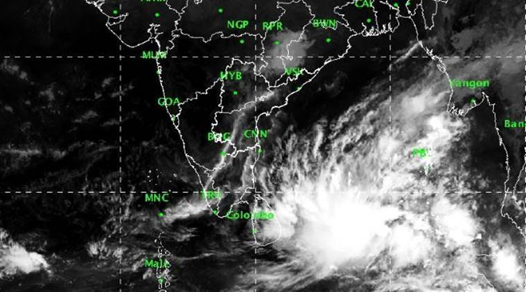 cyclone Phethai, cyclone, tamil nadu, andhra pradesh cyclone, cyclone today, cyclone india news, Depression in Bay of Bengal likely to intensify into cyclone by Friday, Andhra on alert