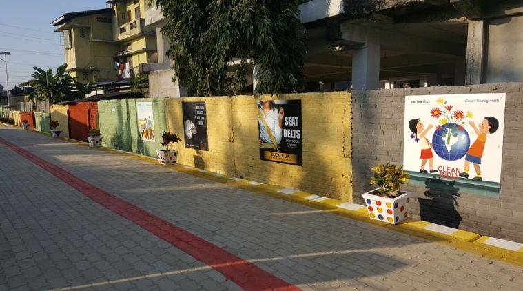 Dibrugarh's Bright Spot: Man Gives 'world Class' Makeover To Road Named After Father