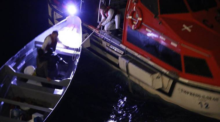 Christmas miracle as cruise ship rescues adrift fishermen