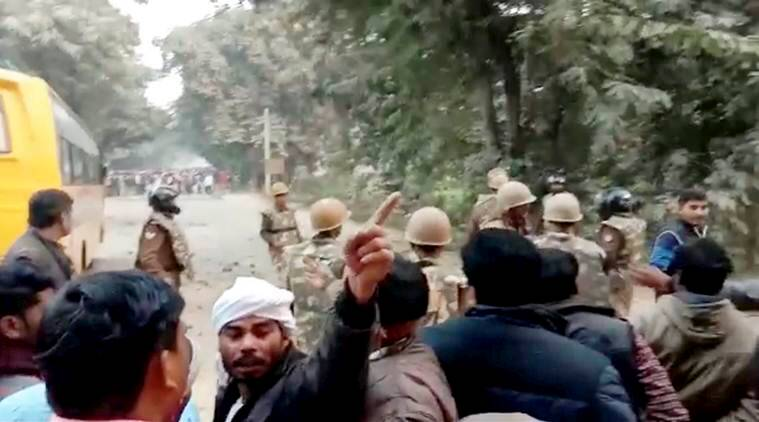 UP police files FIR against 32 after cop killed in Ghazipur mob violence