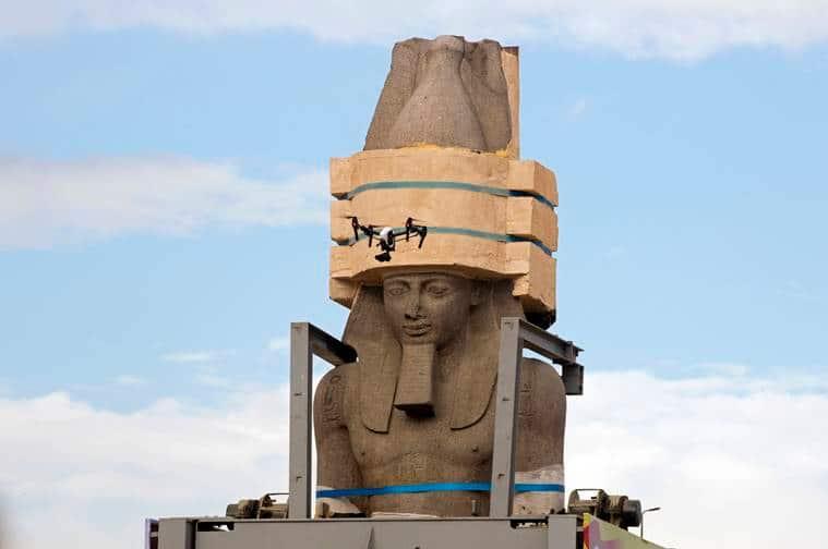 Grand Egyptian Museum, Egyptian Museum, Egyptian Museum Giza, Grand egyptian museum, Cairo grand museum, grand museum cair, Giza Cairo inauguration 2020, indian express, world news, latest news