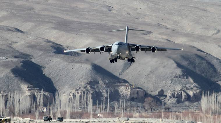 IAF, Indian Air Force, Rapid Airlift Capability, Western Air Command, India news, Indian Express news