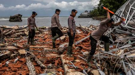 indonesia, indonesia tsunami, indonesia volcano, indonesia volcano tsunami, indonesia tsunami news, world news, indian express