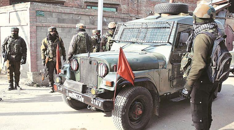 Jammu Kashmir, Pulwama encounter, Pulwama shootout, encounter kashmir, JEM militants, Pulwama kashmir, indian express, latest news