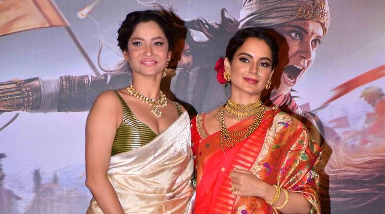 Kangana Ranaut, Manikarnika: The Queen of Jhansi, Ankita Lokhande, Neeta Lulla, Manikarnika trailer launch, Ankita Lokhande birthday, kangana ranaut neeta lulla, kangana ranaut manikarnika, kangana ranut manikarnika trailer launch, ankita lokhande manikarnika trailer launch, kangana ranaut fashion, kangana ranut latest news, kangana ranaut latest pics, manikarnika latest news, manikarnika latest pics, celeb fashion, bollywood fashion, indian express indian express news