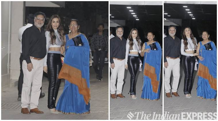 Malaika Arora and parents