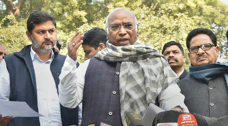 Mallikarjun Kharge, Mallikarjun Kharge on Alok Verma, Alok Verma case, CVC meeting, CBI vs CBI, Congress- Alok Verma, BJP, Indian express