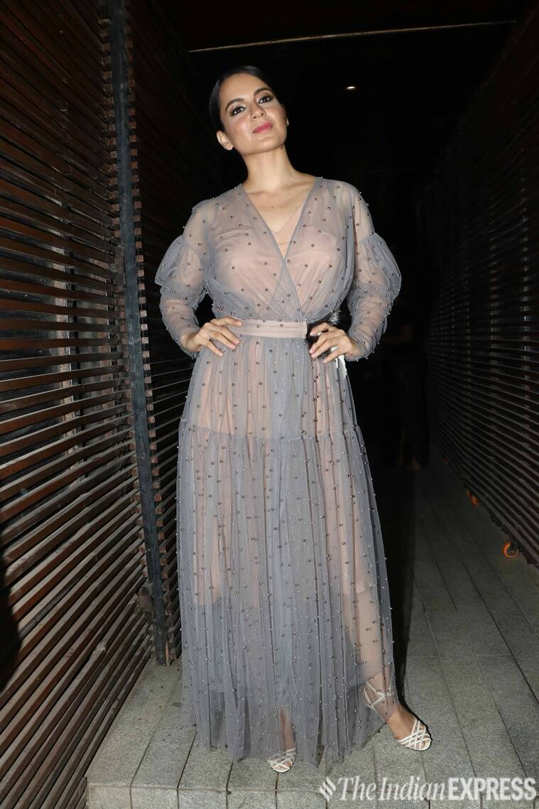 Manikarnika Trailer Launch Kangana Ranaut Steps Out In Her Queen