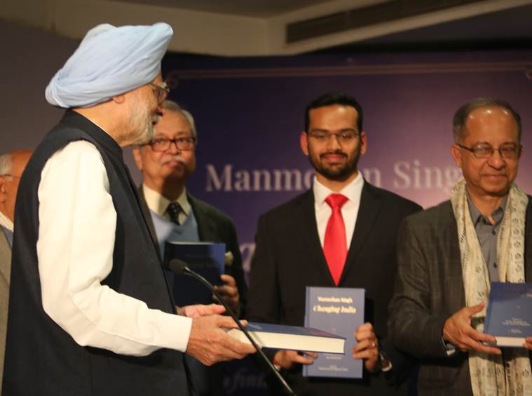 Manmohan Singh was speaking at an event to launch his book, 'Changing India' Tuesday.