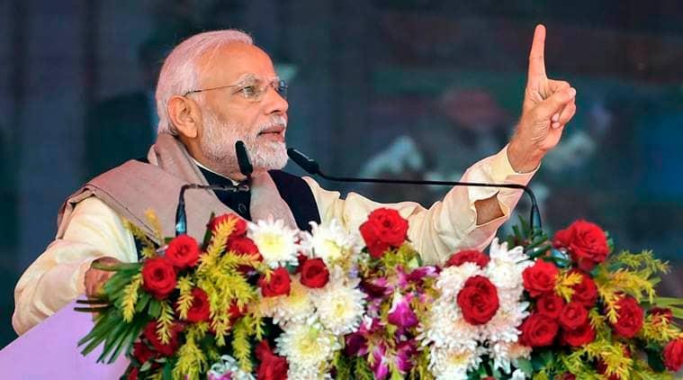 Prime Minister Narendra Modi, Congress, PM Modi, modi attacks congress, political news, modi addresses gathering, modi news,m indian express