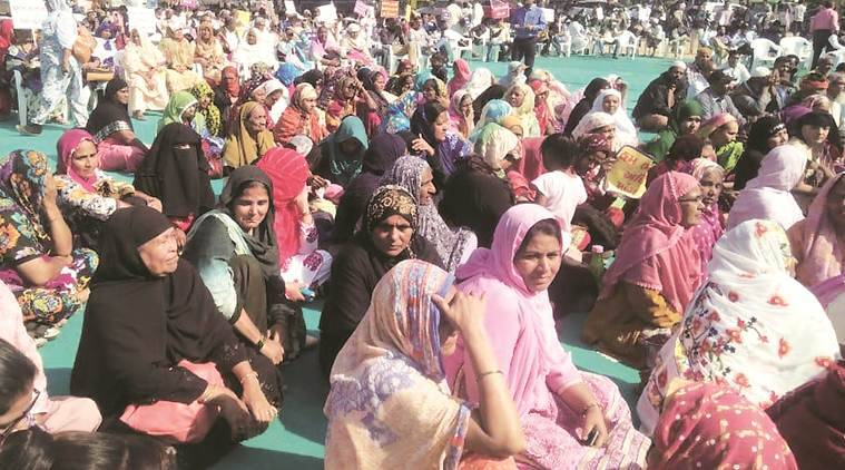 Minority right day, MCC, Muslims at satyagraha Chhavani grounds, United nations international minority right day, Indian express,