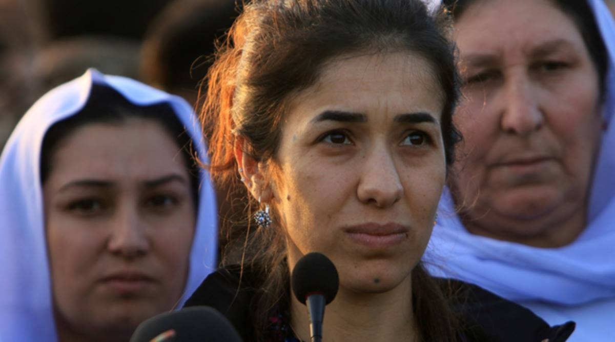 al-Baghdadi killing, al-Baghdadi killed, al-Baghdadi, Baghdadi, Abu Bakr al-Baghdadi, Baghdadi killed, Baghdadi death, al-Baghdadi ISIS, ISIS leader, ISIS leader killed, US raids on Syria, Nadia Murad, Nadia Murad on al-Baghdadi killing, Nadia Murad on Baghdadi, World news, Indian Express