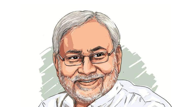 Nitish kumar, NDA Sankalp Rally, Gandhi Maidan rally, BJP, BIhar elections, indian express