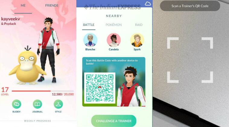 Pokémon GO Game Launches Trainer Battle Feature
