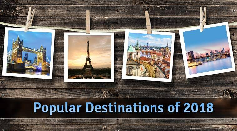 Top 10 destinations of 2018, top 10 destination, top destination 2018
