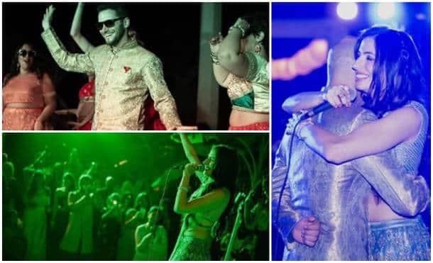 Raghu Ram, Natalie Di Luccio wedding inside photos
