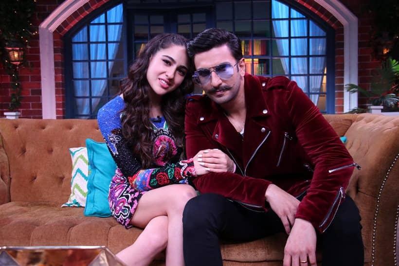 Image result for kapil sharma show 1st episode with ranveer