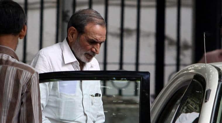 Congress leader Sajjan Kumar.