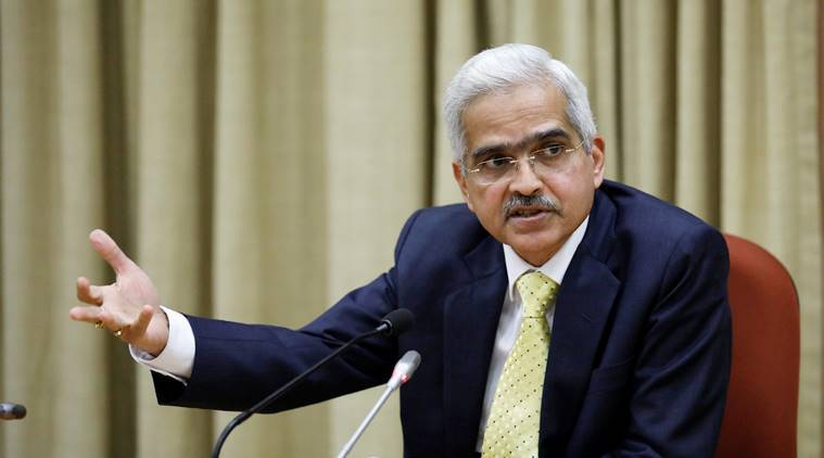 Reserve Bank Governor Shaktikanta Das