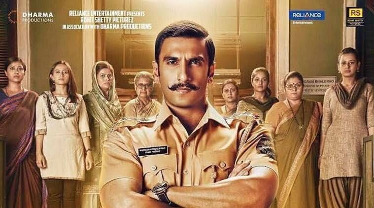 rohit shetty and ranveer singh in simmba