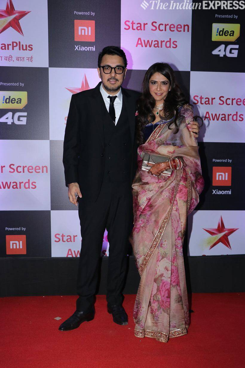 Dinesh Vijan with wife