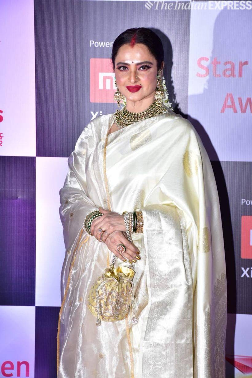 Rekha at Star Screen Awards