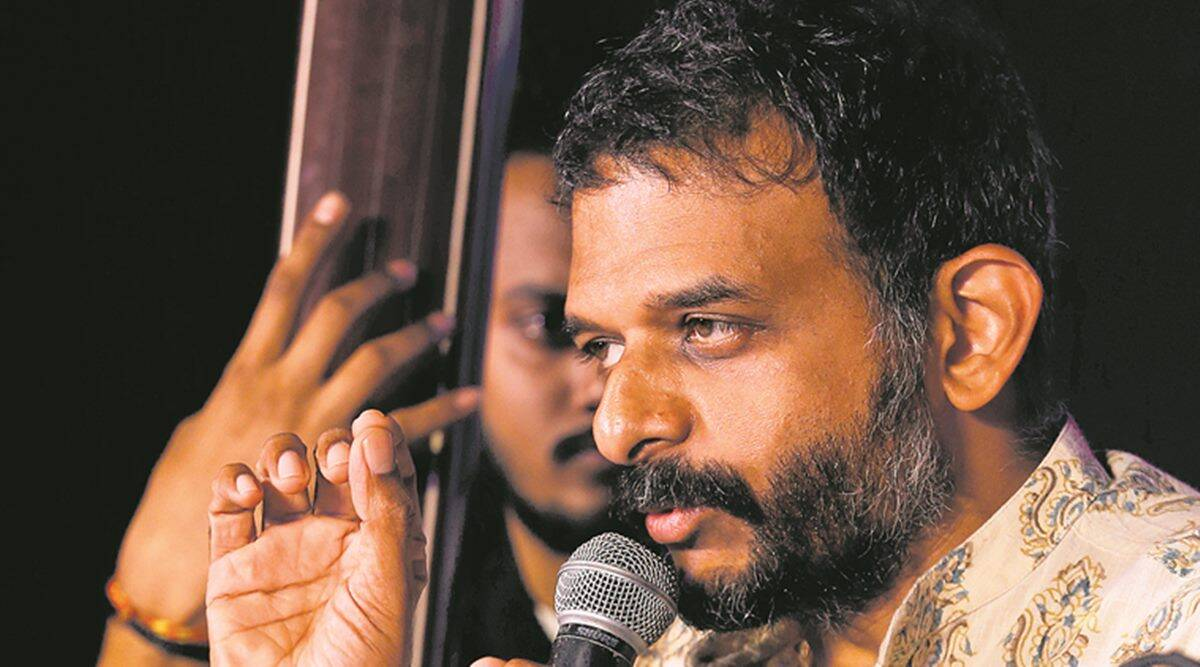 Carnatic vocalist TM Krishna recites 'Postcard from Kashmir' poem ...