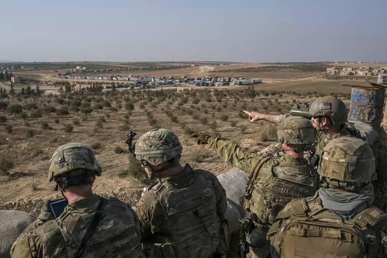 Donald Trump, ISIS, Syria, Trump on Syria, Syria war, US president Syria, US troops, Islamic state, world news, Indian express