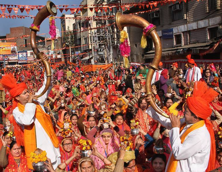 Jammu, vhp jammu, dharam sabha jammu, ram temple, ram mandir, ram mandir dharam sabha, ayodhya ram temple, ram temple construction, vhp ram temple, vhp dharam sabha, indian express, india news, latest news
