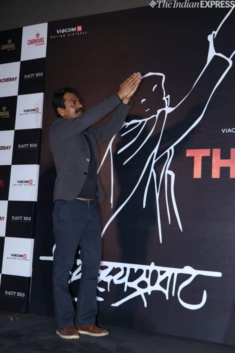nawazuddin siddiqui at thackeray trailer launch