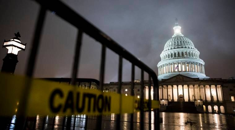 US government shutdown, US Shutdown, Donald Trump, Donald Trump shutdown, US shut down, US wall, US border wall mexico, White house, White house shutdown, world news, indian express, latest news