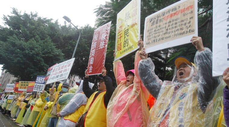 Taiwanese launch yellow vest movement to protest taxes